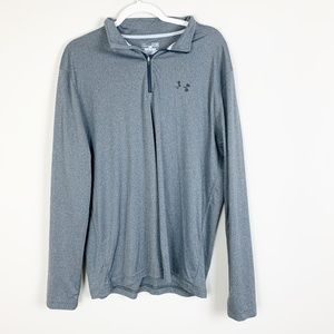Under Armour Mens Heat Gear Loose Fit Gray Long
